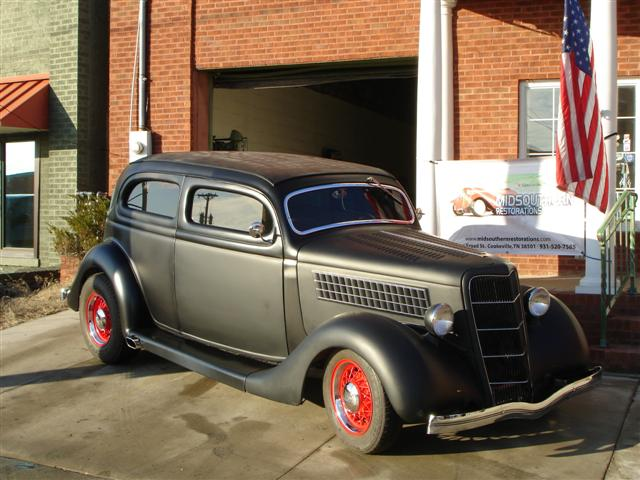 MidSouthern Restorations: 1935 Two Door Sedan