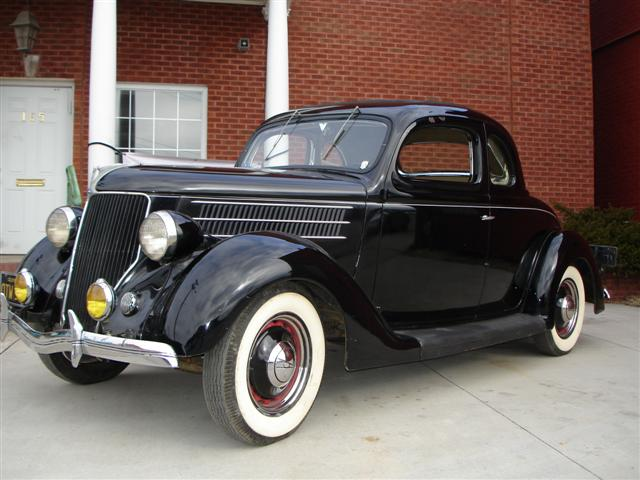 MidSouthern Restorations: 1936 Ford 5 Window Coupe