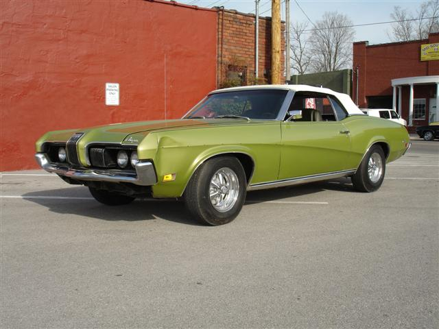 MidSouthern Restorations: 1970 Mercury Cougar