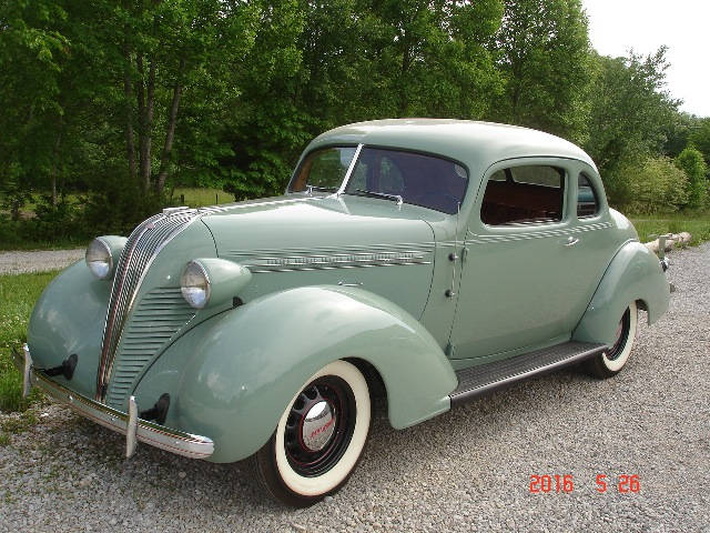 MidSouthern Restorations: 1937 Hudson Business Coupe