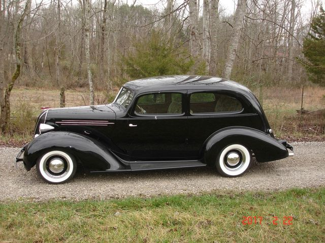 MidSouthern Restorations: 1936 Hudson Two Door Sedan