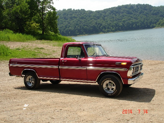 MidSouthern Restorations: 1972 Ford F-100 Pickup