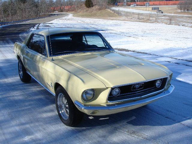 MidSouthern Restorations: 1968 Mustang Coupe